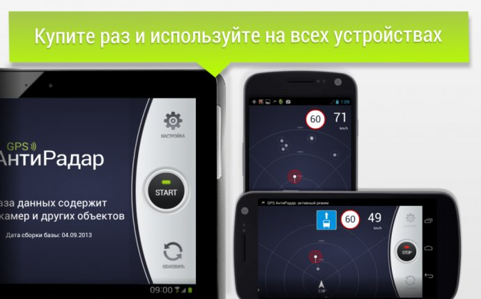 Антирадар для андроид. Обзор самых популярных программ-антирадаров