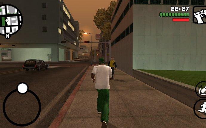 Скачать взломанную GTA: San Andreas [мод много денег] на андроид